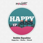 BOBBLE SQUABLES - Happy Ass (Front Cover)