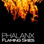 PHALANX - Flaming Skies (Front Cover)