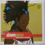 PENN, Dawn - Never Hustle The Music (Front Cover)
