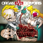 ORGAN DONORS - Under The Knife (Front Cover)