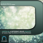 JUSTIN OH - A Different Space (remixed) (Front Cover)