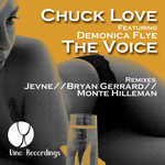 CHUCK LOVE feat DEMONICA FLYE - The Voice (Front Cover)