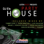 DJ E!S - Party House (Front Cover)
