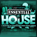 LOOPMASTERS - Essentials 03: House (Sample Pack WAV) (Front Cover)