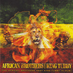 AFRICAN BROTHERS/KING TUBBY - The African Brothers Meet King Tubby In Dub (Front Cover)