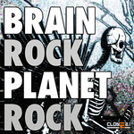 BRAIN ROCK - Planet Rock (Front Cover)