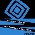 FREAKBOX - Blue EP (Front Cover)