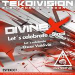 DIVINE X - Let's Celebrate (Front Cover)