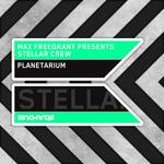 FREEGRANT, Max presents STELLAR CREW - Planetarium (Front Cover)