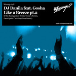 DJ DANILA feat GOSHA - Like A Breeze (Front Cover)