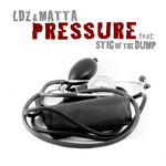 LDZ & MATTA feat STIG OF THE DUMP - Pressure EP (Front Cover)