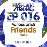 VARIOUS - Friends Vol 2 (Front Cover)
