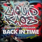 LIQUID KAOS feat KIRSTY HAWKSHAW - Back In Time (Front Cover)