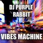 DJ PURPLE RABBIT - Vibes Machine (Front Cover)