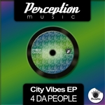 4 DA PEOPLE - City Vibes EP (Front Cover)