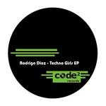 DIAZ, Rodrigo - Techno Girls EP (Front Cover)