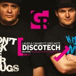 LAUER & CANARD feat GREG NOTE - Discotech (Front Cover)