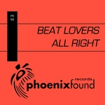 BEAT LOVERS - All Right (Front Cover)