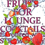 VARIOUS - Fruits For Lounge Cocktails Flavoured With Strawberry (Fresh mix Of Lounge,Chill Out & Downtempo Grooves) (Front Cover)