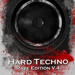 VARIOUS - Hard Techno Rave Edition Vol 4 (Front Cover)