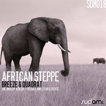 BREEZE & QUADRAT - African Steppe (Front Cover)