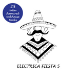 VARIOUS - Electrica Fiesta 5: Latin Flavoured Techouse Tracks (Front Cover)