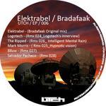 ELEKTRABEL - Bradafaak EP (Front Cover)