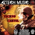 VARIOUS - Techno Cartel Bones Edition (Front Cover)