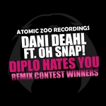 DEAHL, Dani feat OH SNAP - Diplo Hates You (Remix Contest Winners) (Front Cover)