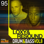 LOXY & RESOUND - Drum & Bass Vol 8 (Sample Pack WAV/APPLE/LIVE/REASON) (Front Cover)