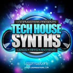 LOOPMASTERS - Tech House Synths (Sample Pack WAV/APPLE/LIVE/REASON) (Front Cover)