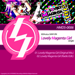 3034 aka SANY ON - Lovely Magenta Girl (Back Cover)