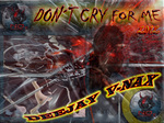 DJ V NAX - Don't Cry For Me (Front Cover)