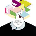 VARIOUS - Exprezoo Meets Kina, Vol 1 (Front Cover)
