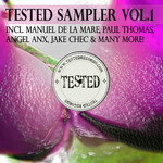 VARIOUS - Tested Sampler Vol 1 (Front Cover)