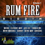 VARIOUS - Rum Fire Riddim (Front Cover)