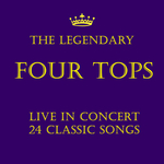 FOUR TOPS - The Legendary Four Tops: Live In Concert 24 Classic Songs (Front Cover)