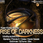 KORAY, Kaan/ERAY - Rise Of Darkness (Front Cover)