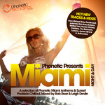 VARIOUS - Phonetic Miami Night & Day (unmixed tracks) (Front Cover)