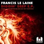 LE LANE, Francis - Diggin' Deep EP (Front Cover)