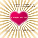 NERMIN/PETE SIMPSON - A Prayer Or You (Groove Assassin & Soul45 mixes) (Front Cover)