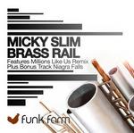 MICKY SLIM - Brass Rail (Front Cover)