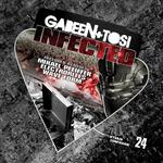 GABEEN & TOSI - Infected (Front Cover)