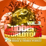VARIOUS - Clubbers Worldtour Vol 3 (25 Hot Rolling Pounding House & Trance Pearls) (Front Cover)