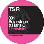 SOLARSTONE/HARIS C - Ultraviolet (Front Cover)