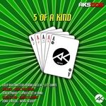 DJEEP RHYTHMS/MASSACH/SERGIO PARDO/SEVEN STEVEN/VDMV & RULOK - 5 Of A Kind (Front Cover)