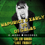 HAPURICE/XARLY vs DJ GALAS - La Lio Gorda (Front Cover)
