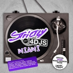 VARIOUS - Strictly 4 DJs Vol 5 (Miami Mixed Version) (Front Cover)