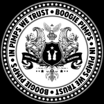 BOOGIE PIMPS - In Pimps We Trust (Front Cover)