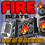FIRE BEATS - Hip Hop Rap Pop Tracks Beats & Instrumentals For Demos Royalty Free Vol 2 (Front Cover)